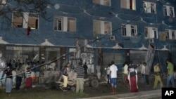 Hotel Weheliye yang diserbu oleh militan pada 10 Juli 2015. (Foto: dok.)