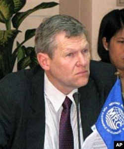 Mr. Jeremy Bird, CEO of the Mekong River Commission, the main regional body coordinating basin-wide development plans.