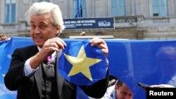 Geert Wilders, el ultraderechista legislador y candidato del antislamista Partido por la Libertad, es uno de los favoritos.