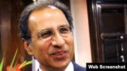مشیر خزانہ، ڈاکٹر حفیظ شیخ