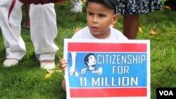 美國眾議院兩名議員提交的法案,將給予幼時被帶入美國的無證移民永久居留的機會。