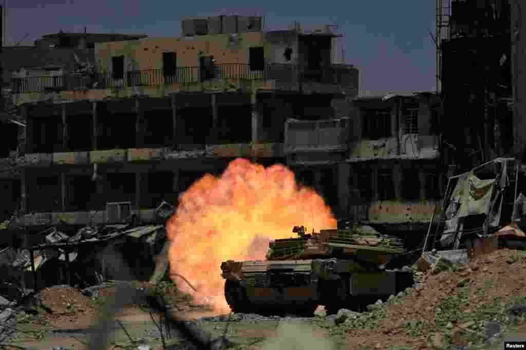 Mosulda döyüşlər