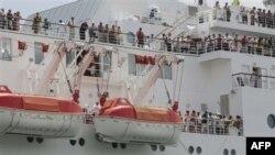 وضعيت مسافران يک کشتی تفريحی در مجمع الجزاير سيشل