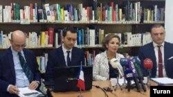 Fransanın Azərbaycandakı səfiri Aureliya Buşez