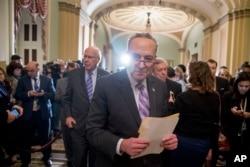 Lider manjine u Senatu Chuck Schumer
