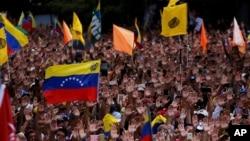 Antivladini protesti u Karakasu
