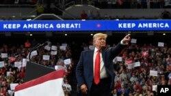 El presidente Donald Trump ha expresado su apoyo ya candidatos republicanos a gobernadores en Estados en los que también ha tenido apoyo para impulsar su carrera presidencial.