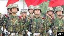 中国士兵(资料照片)