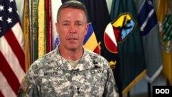 Jenderal Scott Miller, Komandan AS untuk pasukan internasional di Afghanistan