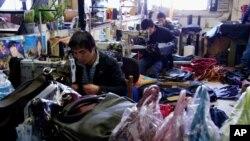 意大利托斯卡纳地区普拉托市中国人服装厂