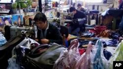 意大利托斯卡納地區普拉托市中國人服裝廠