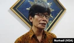 Rektor UMY Gunawan Budianto. (Foto:VOA/ Nurhadi)