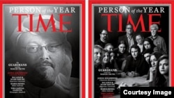 "TIME ""Person of the Year 2018""."