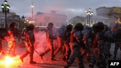 Манежная площадь, 11 декабря 2010г.