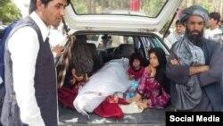جسد خاشه جوان، طنزپرداز قندهاری که توسط طالبان کشته شد