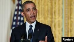 Presiden Obama menerima pengunduran diri direktur sementara IRS Steven Millier hari Rabu (15/5).