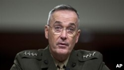 Marine Gen. Joseph Dunford, testifies on Capitol Hill in Washington Nov. 15, 2012