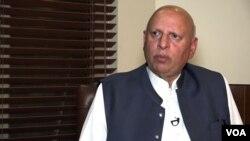 گورنر پنجاب چوہدری محمد سرور۔
