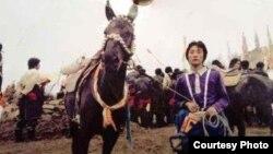 Tsering Tashi at a horse racing festival