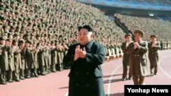 ေျမာက္ကိုရီးယားေခါင္းေဆာင္ Kim Jong-un။