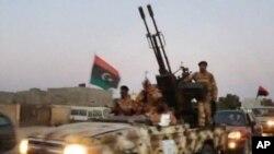 Des éléments des forces spéciales libyennes à Benghazi