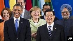 18일 G20 정상회담에 참가한 각국 정상들.