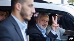 اسماعیل هنیه، رهبر جدید حماس