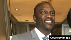 Le rappeur Akon.