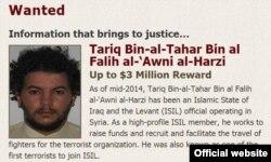 Tariq al-Harzi, um dos primeiros terroristas a juntar-se ao EI, tinha a cabeça a prémio - o Departamento de Estado americano oferecia 3 milhões de dólares de recompensa por ele