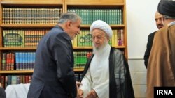 دیدار وزیر فرهنگ و ارشاد اسلامی با مکارم شیرازی در قم