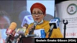 Mataimakiyar Babban Sakataren Majalisar Dinkin Dauniya, Amina Mohammed