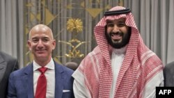 Bezos i saudijski princ Bin Salman