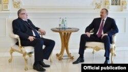 Prezident İlham Əliyev və Vladimir Jirinovski