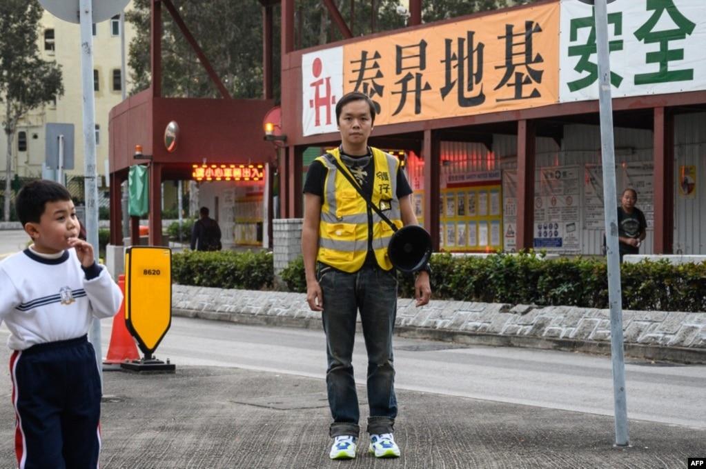 资料照:香港好邻舍本区教会堂主任陈凯兴(2020年1月9日)(photo:VOA)