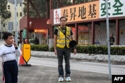 香港好鄰捨本區教會堂主任陳凱興(2020年1月9日)