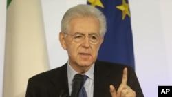 Thủ tướng Italia Mario Monti.