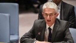 El subsecretario general de la ONU para Asuntos Humanitarios y Ayuda de Emergencia, Mark Lowcock, asegua que las necesidades de los venezolanos superan los recursos asignados para sufragarlos. Foto AP.