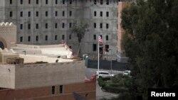 Khu vực Tòa Đại sứ Hoa Kỳ trong thủ đô San'a, Yemen