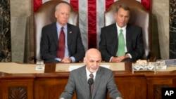 د امریکا کانگرس ته د ولسمشر غني وینا
