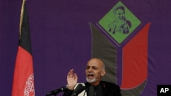 总统候选人阿什拉夫•贾尼(资料照)