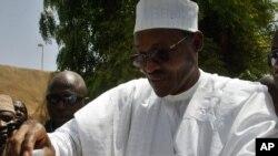 Muhammadu Buhari, dan takarar shugabancin Najeriya a tutar APC.