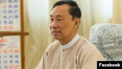 သူရဦးေရႊမန္း(Photo- Thura U Shwe Mann's facebook)