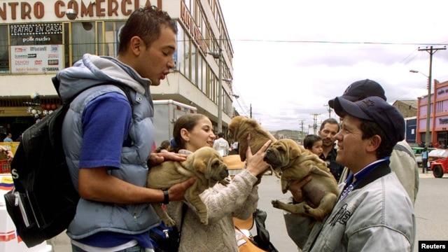 Las ventas informales se tomaron las calles de las ciudades de los países de América Latina. El desempleo ha dado paso al 'rebusque'.