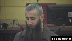Bilal Bosnić na izricanju presude