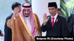 Raja Salman Temui Tokoh Islam di Istana Merdeka