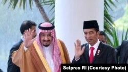Foto-foto Raja Saudi Salman di Istana Bogor
