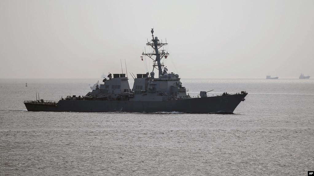 Американский эсминец «Дональд Кук»