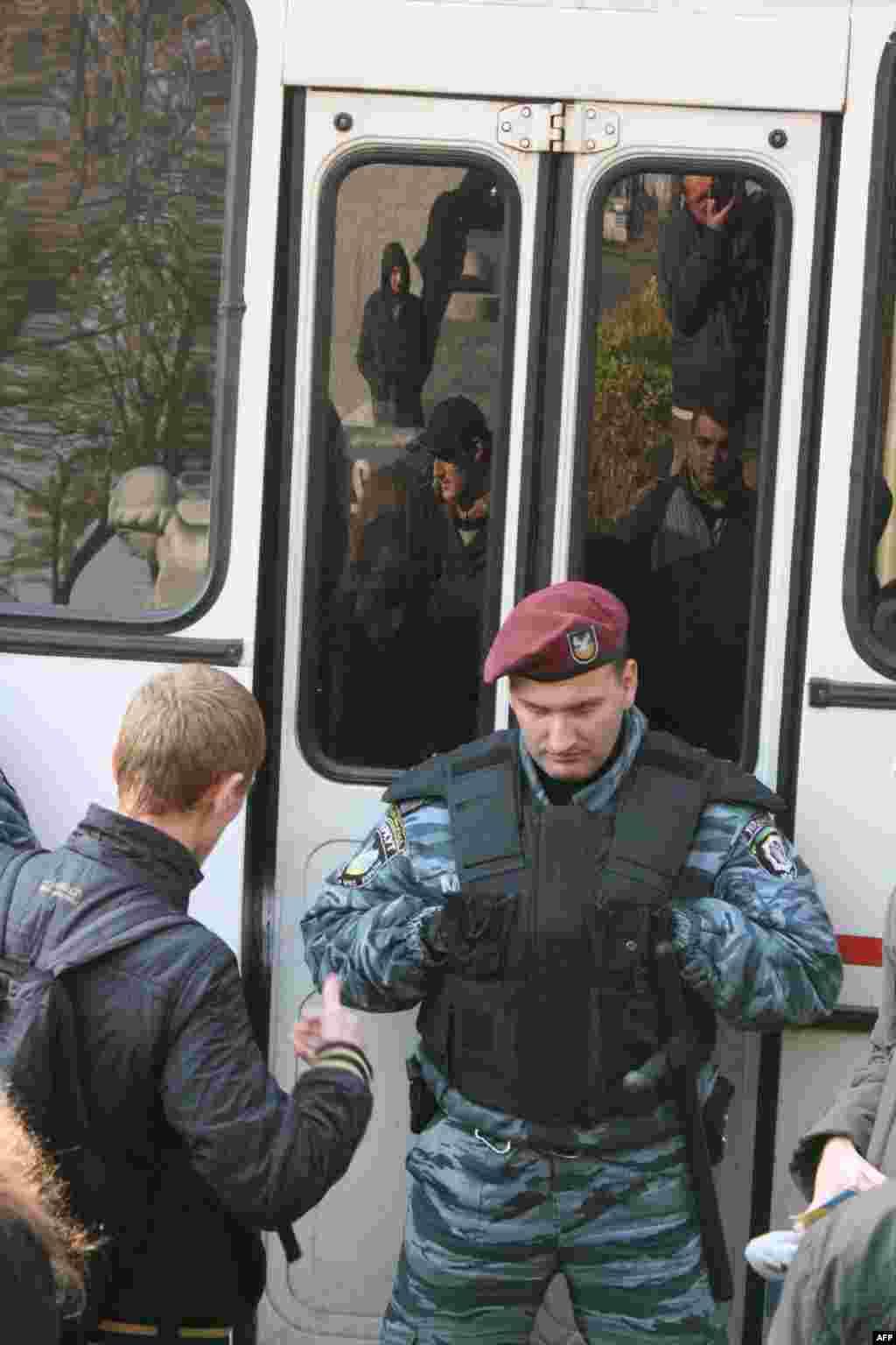 «Провальный» «Русский марш» в Киеве