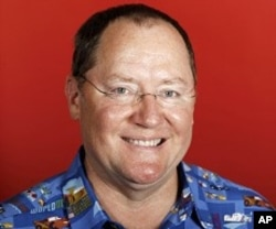 """John Lasseter, chief creative officer at Pixar and Walt Disney Animation Studio, poses for a portrait while promoting the film """"Cars 2"""", in Los Angeles."""