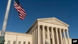 La Cour Suprême est vue à Washington le 20 avril 2018.